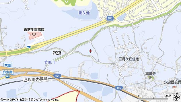 〒639-0252 奈良県香芝市穴虫の地図
