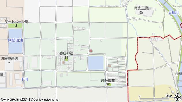 〒636-0244 奈良県磯城郡田原本町笠形の地図