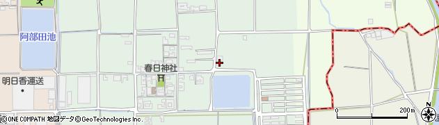 奈良県田原本町(磯城郡)笠形周辺の地図