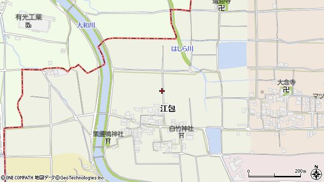 〒633-0086 奈良県桜井市江包の地図