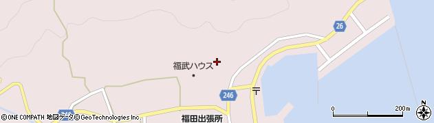 葺田八幡神社周辺の地図