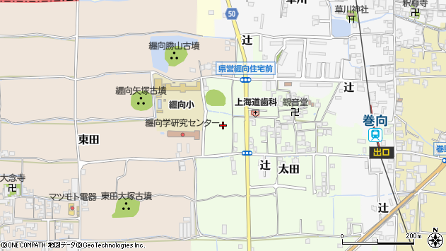 〒633-0084 奈良県桜井市太田の地図