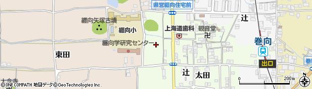 奈良県桜井市太田周辺の地図