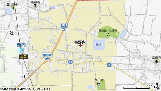 〒633-0082 奈良県桜井市巻野内の地図