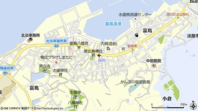 〒656-1711 兵庫県淡路市富島の地図