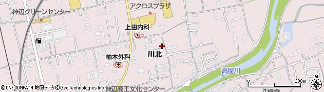 広島県福山市神辺町(川北)周辺の地図