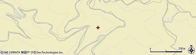 奈良県桜井市萱森周辺の地図