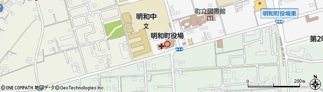 三重県多気郡明和町周辺の地図