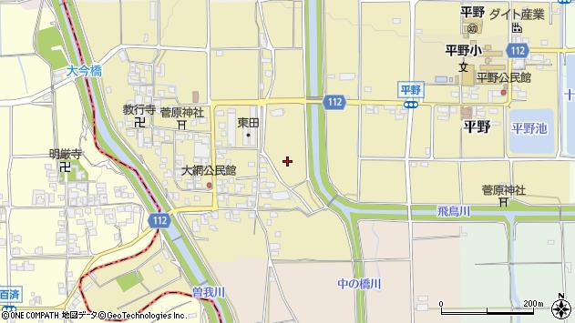 〒636-0353 奈良県磯城郡田原本町大網の地図