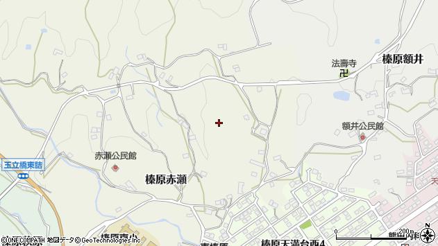 〒633-0207 奈良県宇陀市榛原赤瀬の地図