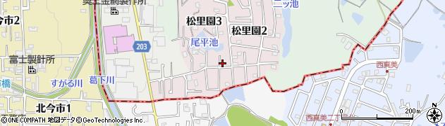 タツミスポーツ整体周辺の地図