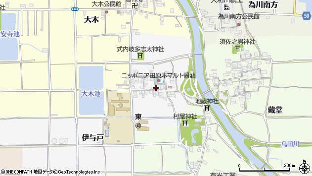 〒636-0243 奈良県磯城郡田原本町伊与戸の地図