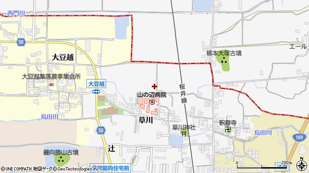 〒633-0081 奈良県桜井市草川の地図