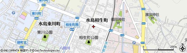 岡山県倉敷市水島相生町周辺の地図