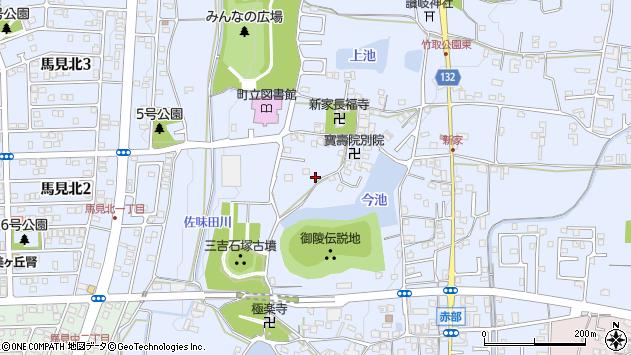 〒635-0823 奈良県北葛城郡広陵町三吉の地図