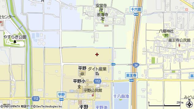 〒636-0305 奈良県磯城郡田原本町平野の地図