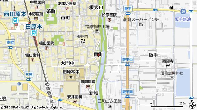 〒636-0325 奈良県磯城郡田原本町南町の地図
