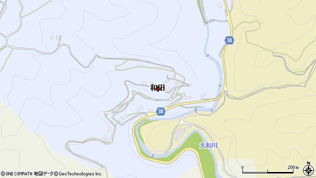 〒633-0132 奈良県桜井市和田の地図