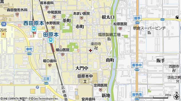 〒636-0327 奈良県磯城郡田原本町堺町の地図