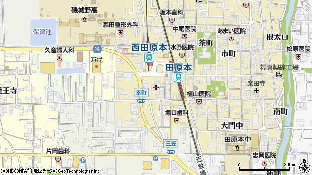 〒636-0315 奈良県磯城郡田原本町幸町の地図