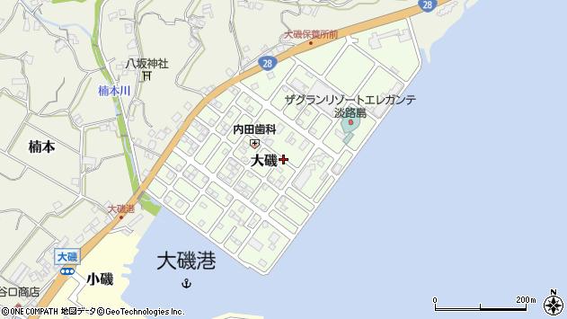 〒656-2302 兵庫県淡路市大磯の地図