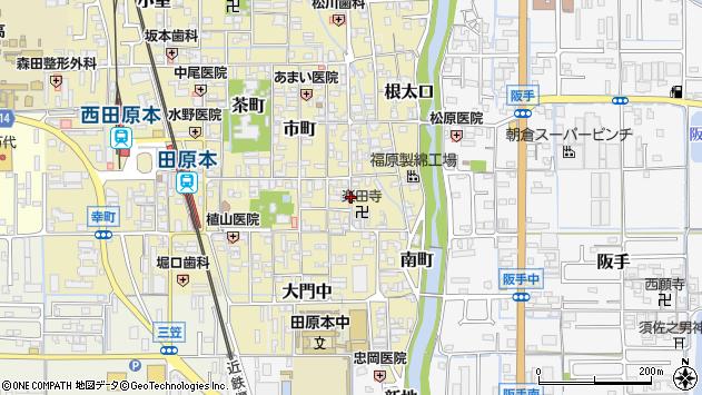 〒636-0333 奈良県磯城郡田原本町祗園町の地図