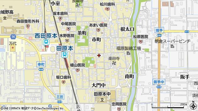 〒636-0334 奈良県磯城郡田原本町本町の地図