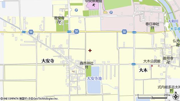 〒636-0248 奈良県磯城郡田原本町大安寺の地図