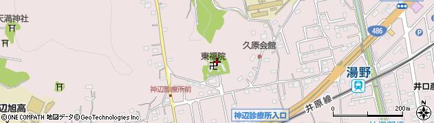 東福院周辺の地図