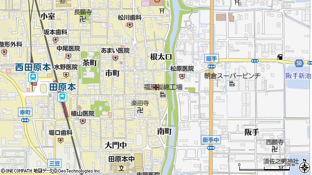〒636-0324 奈良県磯城郡田原本町三輪町の地図