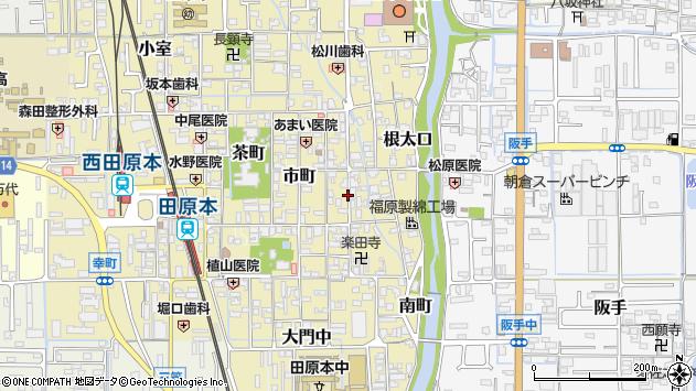 〒636-0328 奈良県磯城郡田原本町材木町の地図