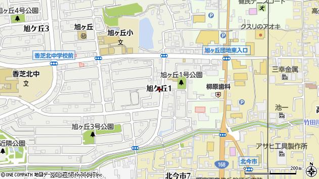 〒639-0266 奈良県香芝市旭ケ丘の地図