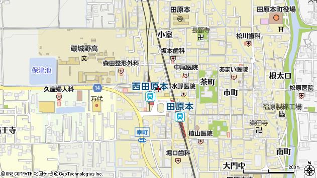 〒636-0317 奈良県磯城郡田原本町殿町の地図