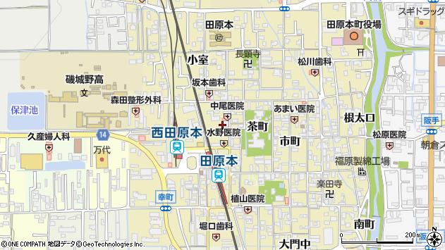 〒636-0314 奈良県磯城郡田原本町戎通の地図