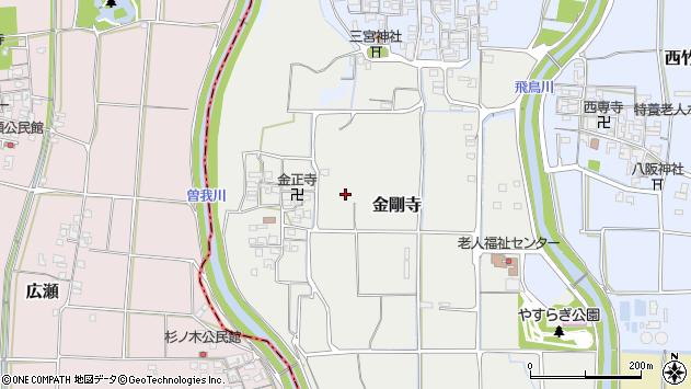 〒636-0352 奈良県磯城郡田原本町金剛寺の地図
