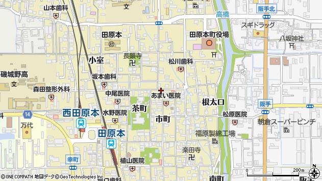 〒636-0331 奈良県磯城郡田原本町魚町の地図