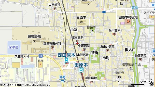 〒636-0313 奈良県磯城郡田原本町旭町の地図