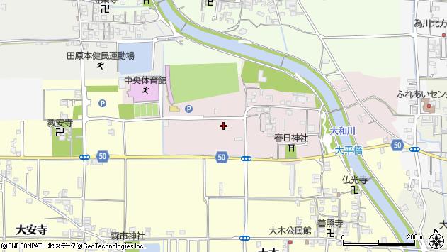 〒636-0241 奈良県磯城郡田原本町平田の地図