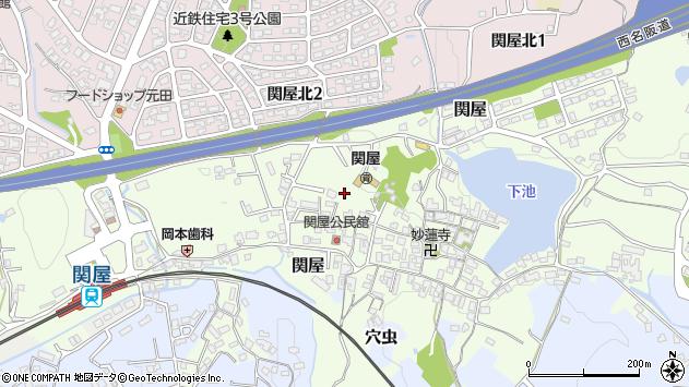 〒639-0255 奈良県香芝市関屋の地図