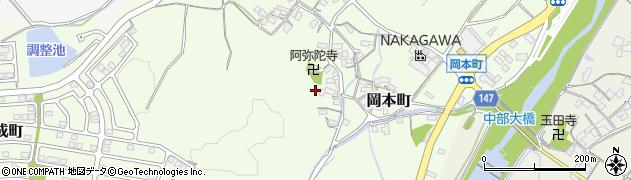 三重県松阪市岡本町周辺の地図