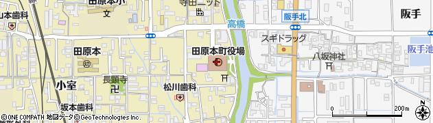 奈良県田原本町(磯城郡)周辺の地図