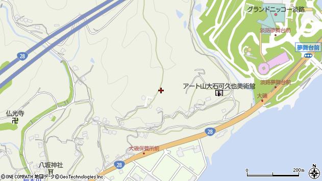 〒656-2301 兵庫県淡路市楠本の地図