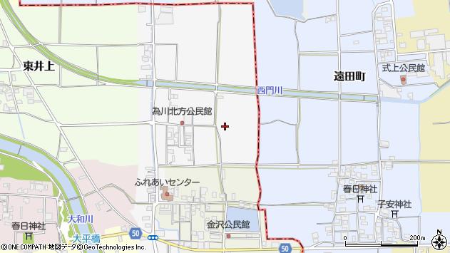 〒636-0231 奈良県磯城郡田原本町為川北方の地図