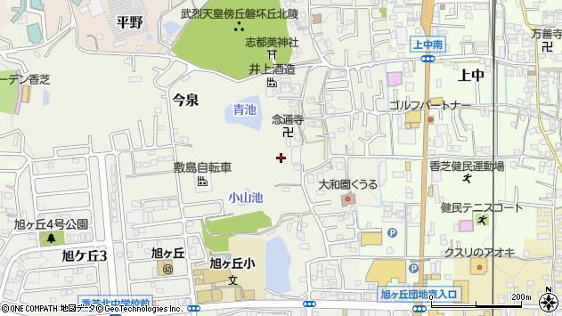 〒639-0264 奈良県香芝市今泉の地図