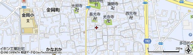 仏源寺周辺の地図