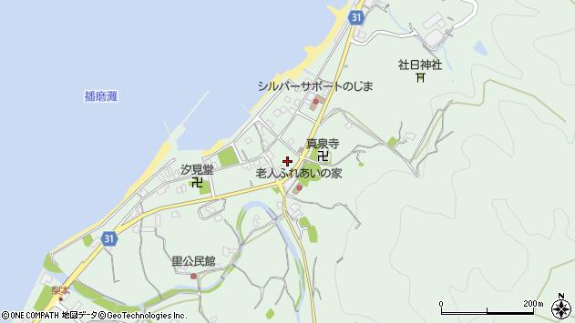 〒656-1721 兵庫県淡路市野島蟇浦の地図