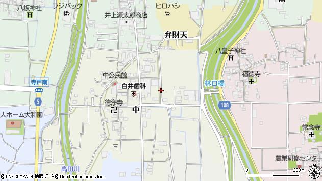 〒635-0816 奈良県北葛城郡広陵町中の地図