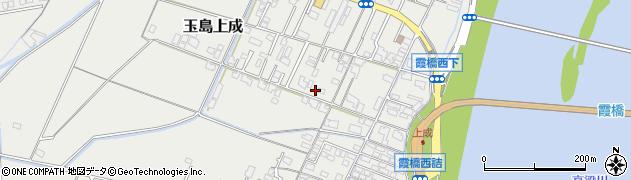 岡山県倉敷市玉島上成周辺の地図