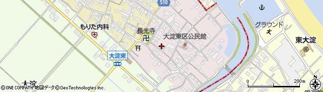 三重県多気郡明和町大淀乙周辺の地図