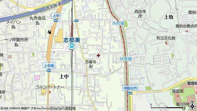 〒639-0265 奈良県香芝市上中の地図